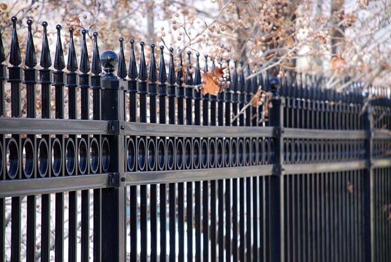 Steel Ameristar Ornamental Fencing Northwest Fence And