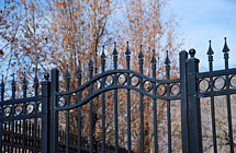 GENESIS - Alpine - Residence - Arched Walk Gate