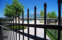 CLASSIC - Orem - Parkway Crossing Pool Fence - 6' High