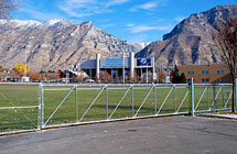 Provo - BYU Intramural Field - Cantilever Gate