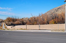 Provo Business Park - Double Roll Gates and Ridge Slats