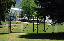 Provo - Pioneer Park - 8' High Cantilever Gate