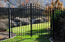 Alpine - Residence - Double Arched Gate