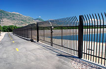 American Fork - Pressurized Irrigation Pond - 30' Double Gate Invinceable