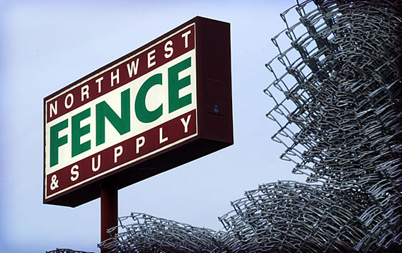 Northwest Fence and Supply Sign