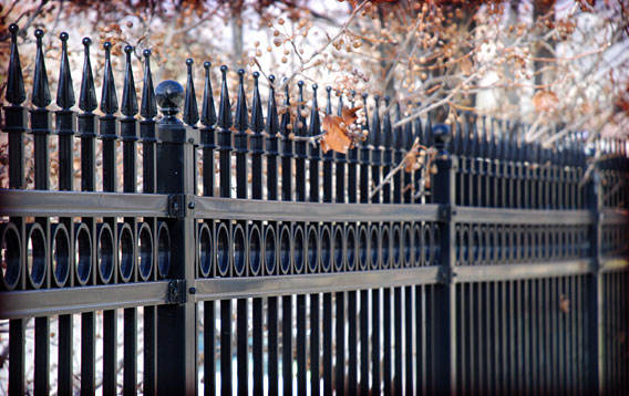 Residential: Ornamental Fence