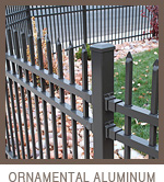 Ornamental Aluminum Fencing